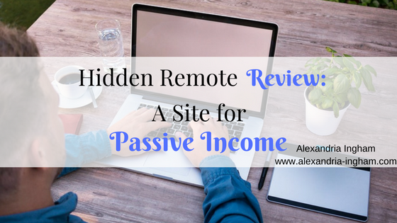 Hidden Remote Review: A Site for Passive Income