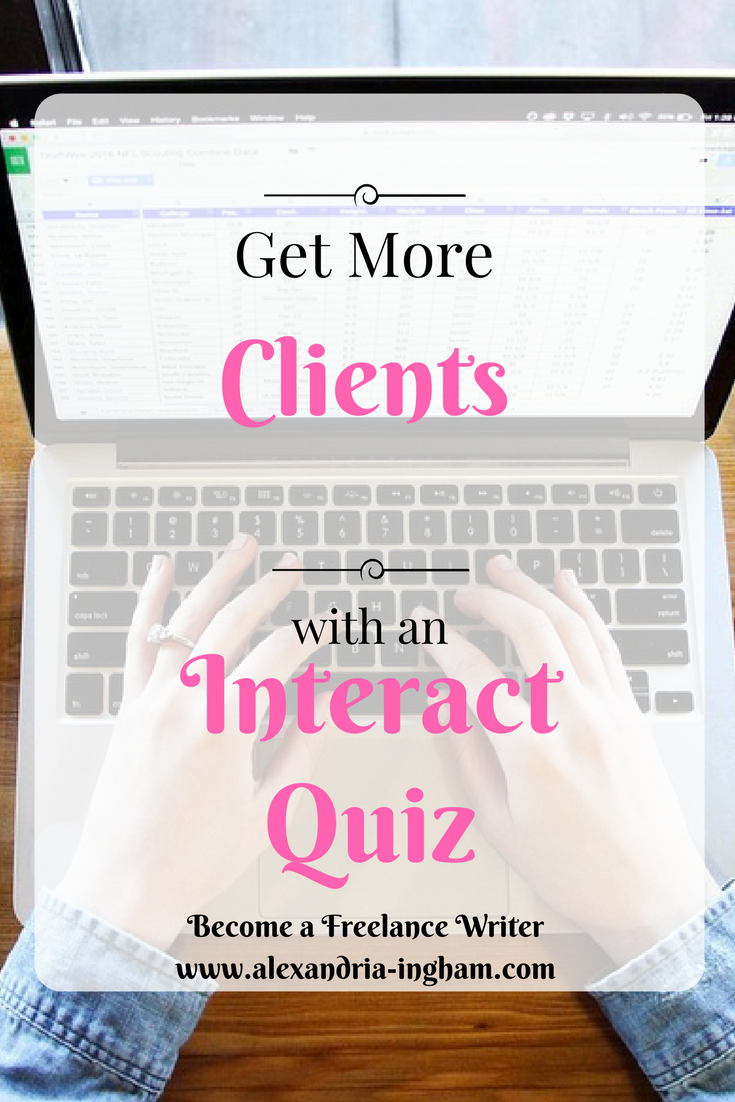 interact quiz, get more clients