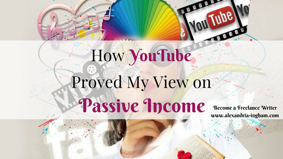 How YouTube has Just Supported My Point about Passive Income in 2018