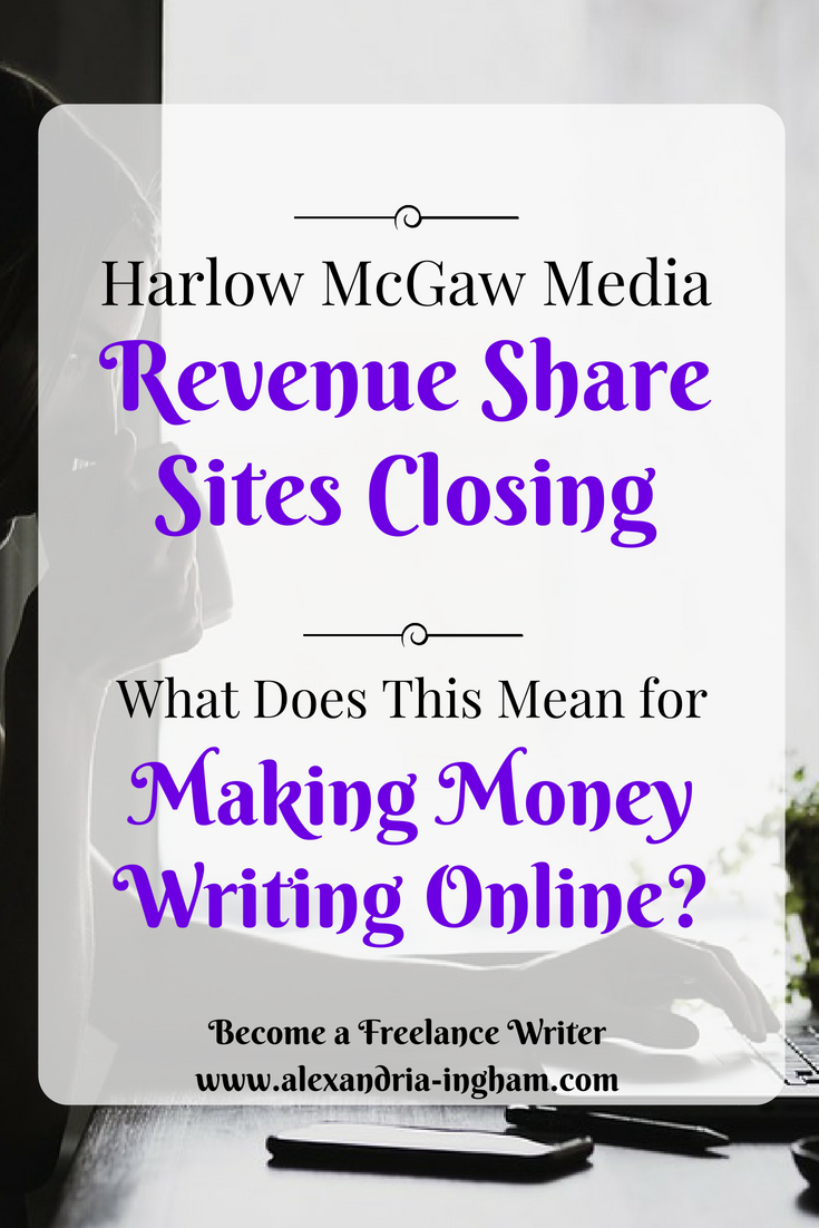 Harlow McGaw Media Revenue Share Sites closing